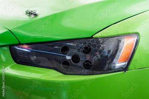 Fototapeta Close up shot of a car obraz na płótnie