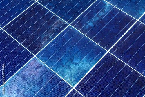 Obraz 太陽光パネル - fototapety do salonu