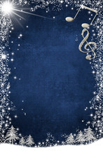 Christmas Musical Card  With C...