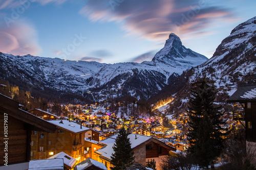 Photo Paysage de montages - Zermatt - Suisse