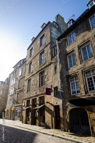 Saint-Malo, walled city in Brittany, France © Marta P. (Milacroft)