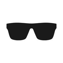 Sunglasses Black Vector Silhou...