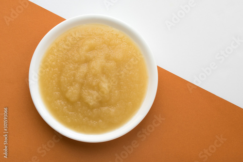 Applesauce in a Bowl Canvas Print