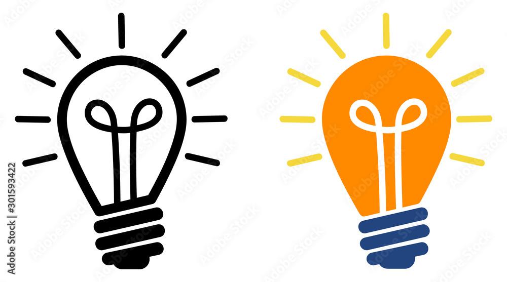 Fototapeta Light bulbs