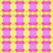 canvas print picture - colorful seamless repeatable pattern with khaki, neon fuchsia and violet colors