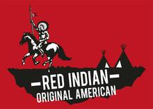 Red Indian Native American Rai...