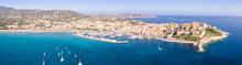 Calvi Luftaufnahme Panorama