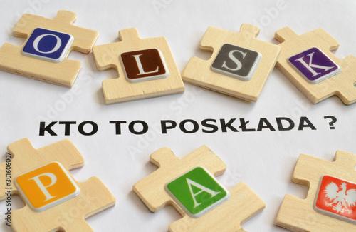 Wybory prezydenckie w Polsce Tablou Canvas