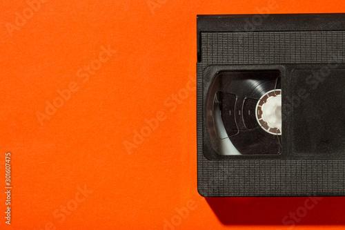 old plastic video cassette Fototapeta