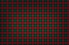 Christmas Red-green Checkered Background