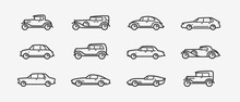 Car Icon Set. Transport, Trans...