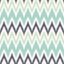 Ikat Chevron Seamless Pattern. Tribal Background..