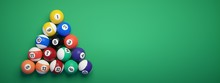 Billiard Balls Placed In The S...