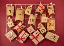 Advent Calendar With Craft Car...
