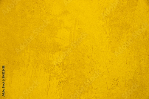 Wall grunge yellow background texture #301632488