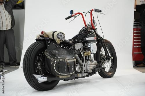Motorrad als Chopper Shufflehead