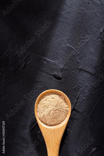 Lepidium meyenii - Dry Organic Maca Powder Canvas Print