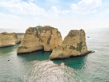 Rouche Rocks In Beirut, Lebano...
