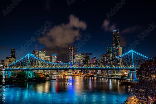 Obraz 20191029 Story Bridge at night - fototapety do salonu