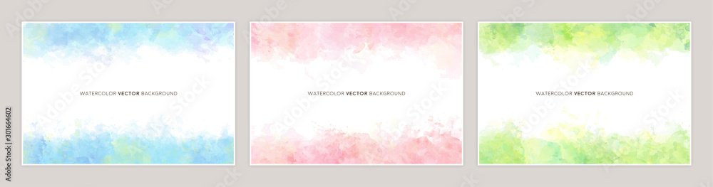 Fototapety, obrazy: watercolor vetcor background