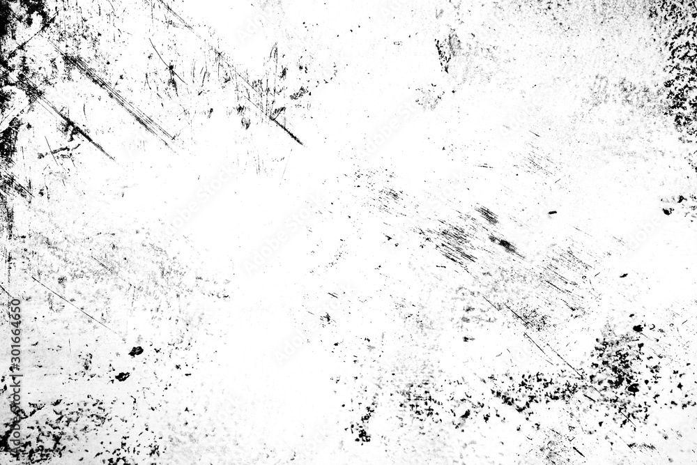 Fototapeta Abstract texture dirty and scratches frame. Dust particle and dust grain texture or dirt overlay use effect for frame with space for your text or image and vintage grunge style.