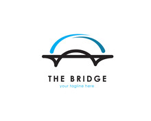 Bridge Logo Design. Vector Ill...