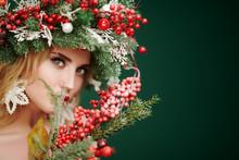 Bouquet With Mistletoe