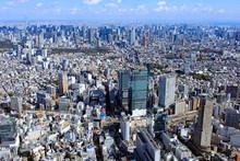 渋谷上空/都市風景