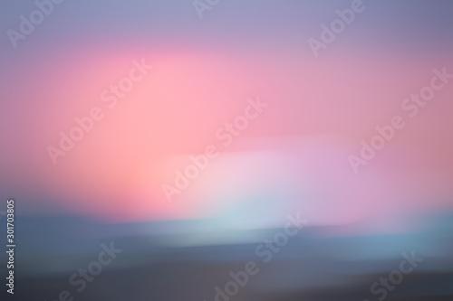 Poster Rose clair / pale background illustration of pink pastel colors interesting design