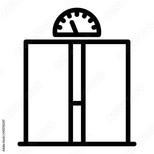 Photo Ajar elevator doors icon