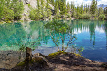 Grassi Lakes In Canmore, Alberta, Kanada