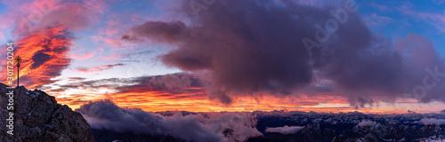 Photo  Sunrise Panorama