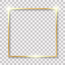 Realistic Picture Frame Isolat...