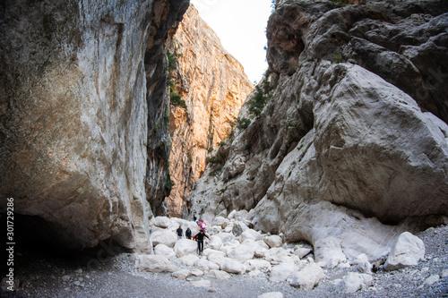 Fotografia, Obraz  Gorropu canyon