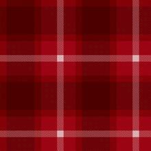 Red Tartan Check Plaid Seamless Patterns. Lumberjack Buffalo Plaid. Rustic Christmas Backgrounds. Christmas Tartan Patterns. Repeating Pattern Tile