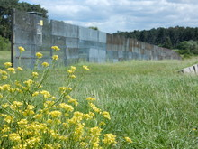 The Former Inner German Border Near Point Alpha Between Rasdorf, Hesse And Geisa, Thuringia, Germany