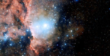 Stars, Dust And Gas Nebula In ...