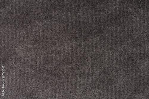 Obraz Saturated dark material texture in grey tone. - fototapety do salonu