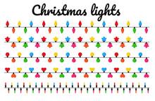 Christmas Lights. Colorful Dec...
