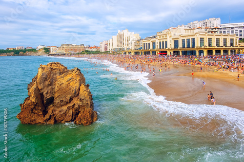 Photo Biarritz city, Basque Country, France