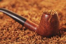 Smoking Pipe Close-up