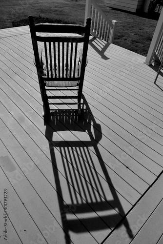 Fotografía Rocking Chair B&W