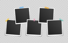 Vector Photo Frame Mockup Desi...
