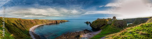 Photo Dunnottar Castle in Scotland. Near to Aberdeen - United Kingdom