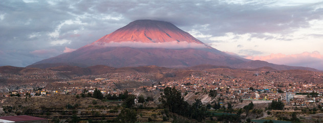 Misti volcano, Peru