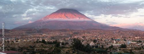 Misti volcano, Peru Lerretsbilde