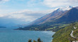 Glenorchy New Zealand lake and mountais nature snow queenstown