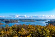 Panorama Von Der Talsperre Pö...