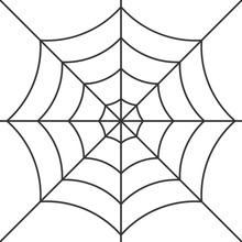 Vector Cobweb Background. Hall...