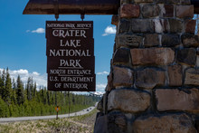 Crater Lake National Park Oreg...